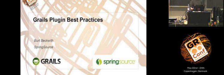 Grails Plugin Best Practices