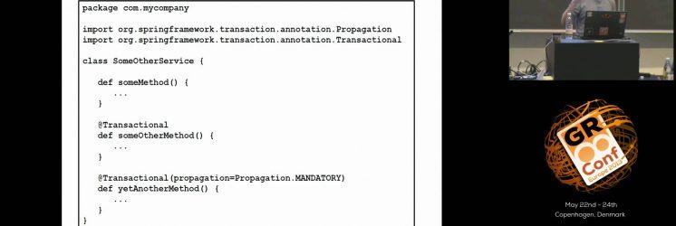 Grails Transactions