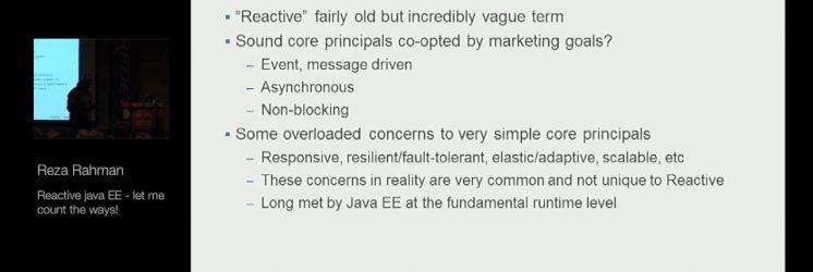 Reactive Java EE