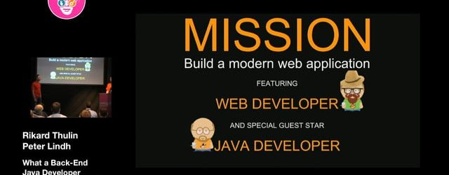 Introduction to Modern Web Stack for the Back-End Java Developer