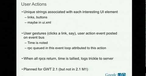Architecting GWT applications for production at Google