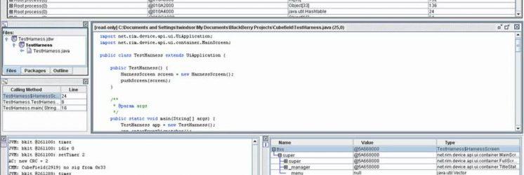 BlackBerry Java Development – How Do I Debug on a Live Device?