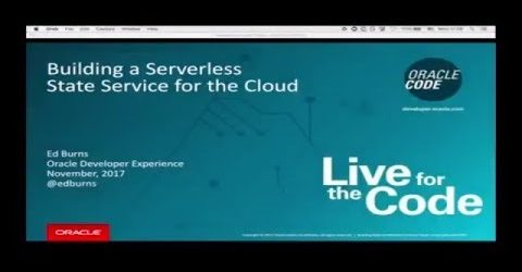Build a Cloud Serverless State Services with Java 9