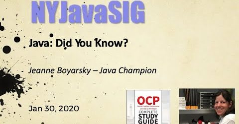 Java: Did You Know?