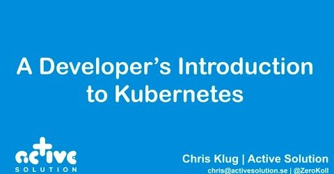 A Java Developer Introduction to Kubernetes