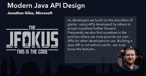 Modern Java API Design
